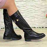 Женские зимние кожаные сапоги на низком ходу. 38 размер (2пары), фото 4