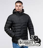Молодежная зимняя куртка 25580 черный | Braggart Youth