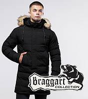 Зимняя куртка 25010 черная | Braggart Youth