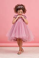 Платье для девочки Пудра юбка фатин размер 80,86 см