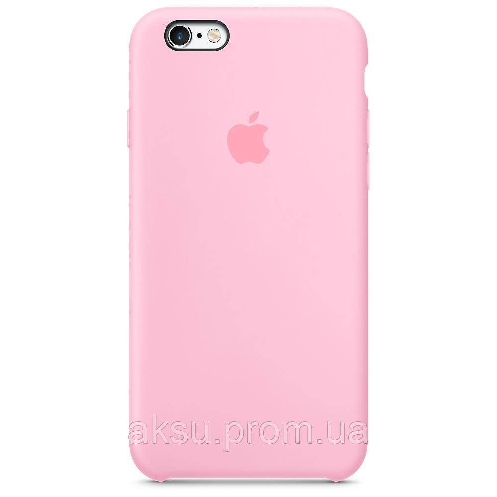 Чехол Silicone case для iPhone 6 / 6s Pink