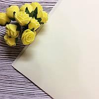 Фоамиран (Иран) #107 светло лимонный