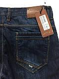 Утеплённые джинсы X-Foot 1376 синие, фото 2