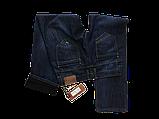 Утеплённые джинсы X-Foot 1376 синие, фото 3