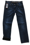 Утеплённые джинсы X-Foot 1376 синие, фото 4