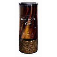 Растворимый кофе Davidoff 57 Espresso в стеклянной банке 100 г