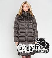 Зимний женский воздуховик 29775 капучино | Braggart Angel's