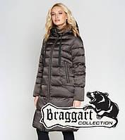 Зимний женский воздуховик 47250 капучино   Braggart Angel's