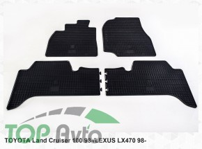 Stingray Гумові килимки Toyota Land Cruiser 100 Lexus LX 470