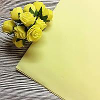 Фоамиран (Иран) #114 лимонный
