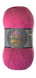 Пряжа Himalaya Lana Lux 800, цвет Фуксия