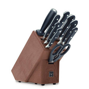 Блок ножей, 6 ножей, машина, ножницы, вилка Wusthof Classic