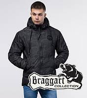 Куртка зимняя молодежная 25020 черная   Braggart Youth