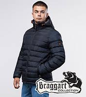 Зимняя куртка молодежная 25580 темно-синяя   Braggart Youth, фото 1