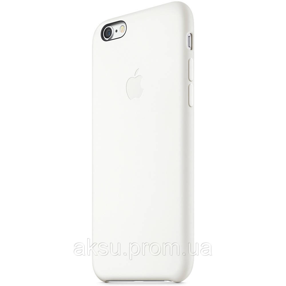 Чехол Silicone case для iPhone 6 / 6s White