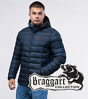 Куртка молодежная зимняя 25600 синяя   Braggart Youth, фото 1