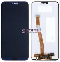 Дисплей Huawei P20 Lite Dual Sim (ANE-L21), Nova 3e с сенсором (тачскрином) синий