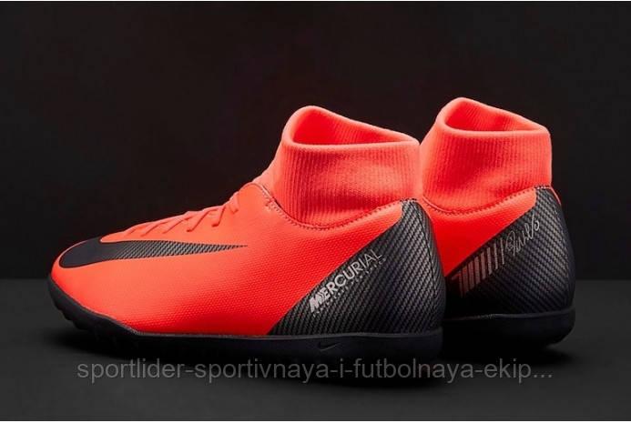 9ccc0797 ... Сороконожки Nike Mercurial SuperflyX 6 Club CR7 TF AJ3570-600, ...