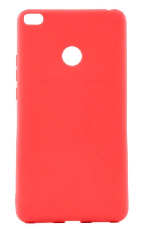 Чохол-накладка Candy для Xiaomi Mi Max 2 Силіконовий Червоний