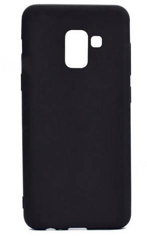 Чехол накладка Candy для Samsung A730 Galaxy A8 + (2018) Силиконовый Черный, фото 2
