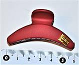 Матові Краби для волосся з емблемою (12 шт), фото 2