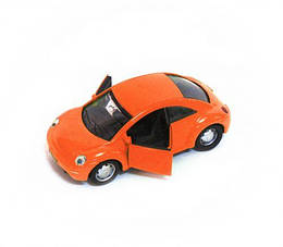 """Металлическая модель """"Volkswagen Beetle"""" (оранжевая)"""