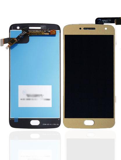 Дисплей модуль Motorola XT1684 Moto G5 Plus, XT1685, XT1687 в зборі з тачскріном золотий copy