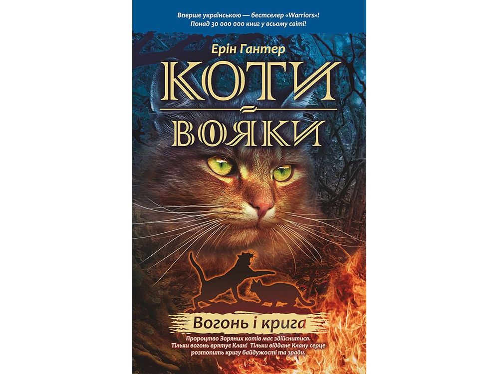 Книга Коти вояки. Вогонь і крига 2