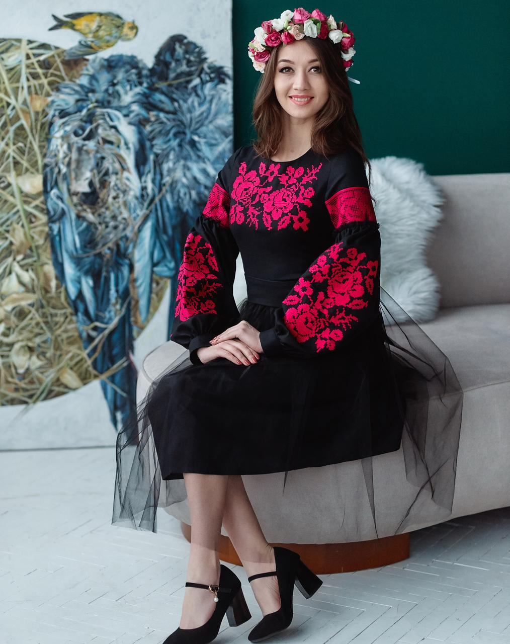4a224c07c2641a Вечірнє вишите плаття, цена 1 200 грн., купить в Львове — Prom.ua ...