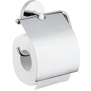 Hansgrohe Logis 40523000 держатель для туалетной бумаги с крышкой