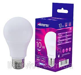 Лампа LED Memorex А60 10W Е27 4100K 850Lm 175-250V