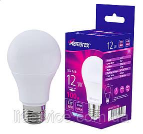 Лампа LED Memorex А60 12W Е27 4100К 1050Lm 175-250V