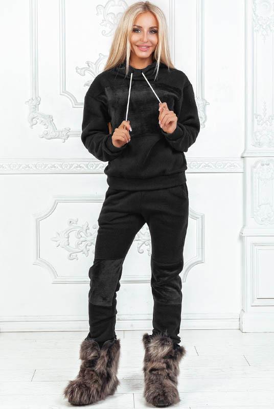 Чорний прогулянковий костюм Бріджит