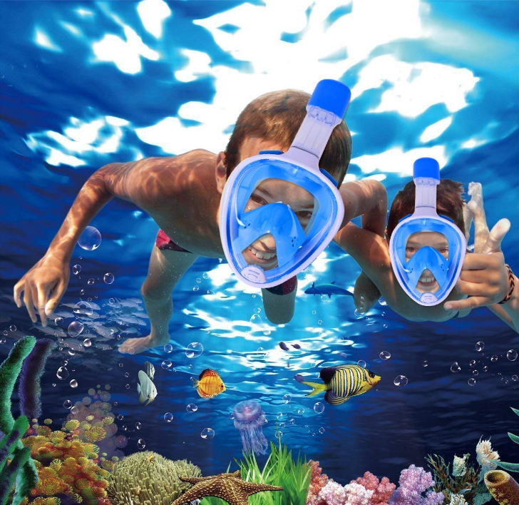 ÐаÑка Ð´Ð»Ñ Ð¿Ð¾Ð´Ð²Ð¾Ð´Ð½Ð¾Ð³Ð¾ Ð¿Ð»Ð°Ð²Ð°Ð½Ð¸Ñ Swimming mask, ÑоÑо 3