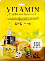 Маска для лица с витамином С Ekel