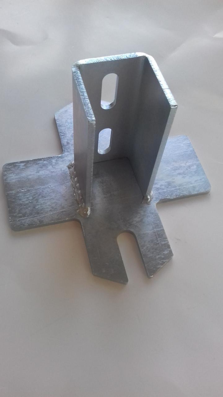 Станина для винтовых свай облегченная 3 мм