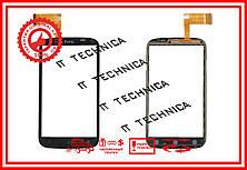 Сенсор HTC Desire X T328E Черный