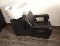 Парикмахерская мойка CHEAP с креслом FLAMINGO, 63x96x110см, Керамика Космо Италия, фото 1