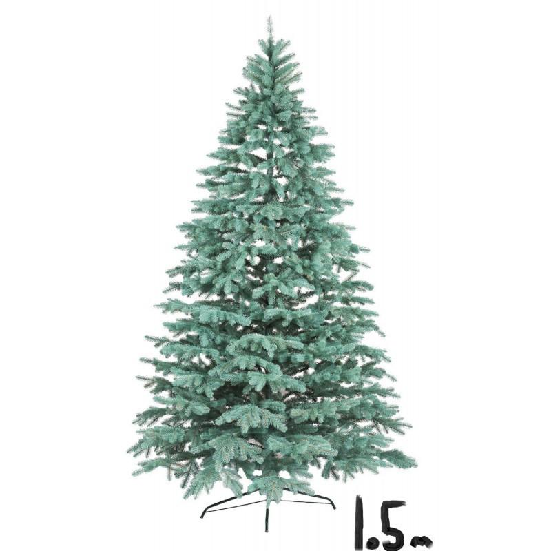 """Искусственная елка """"Литая Ковалевская"""" 1,5м голубая"""