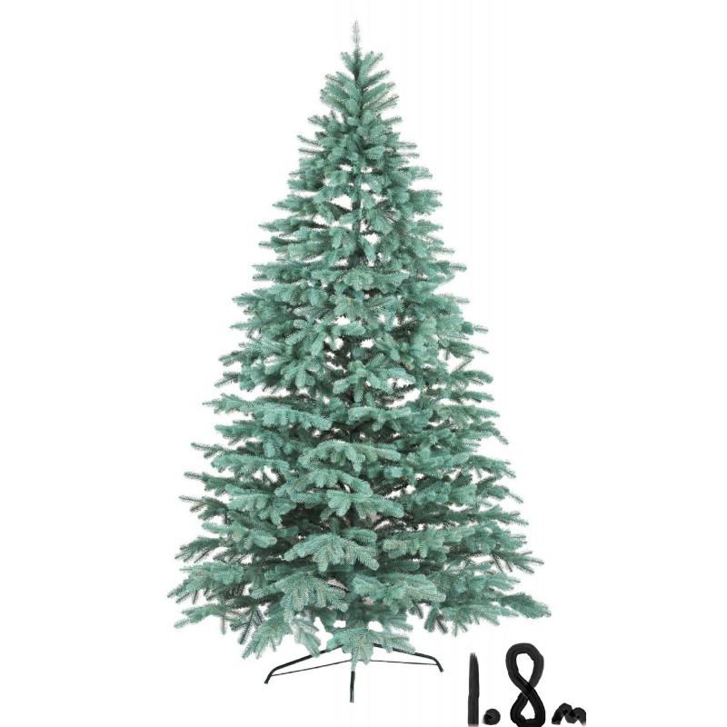 """Искусственная елка """"Литая Ковалевская"""" 1,8м голубая"""