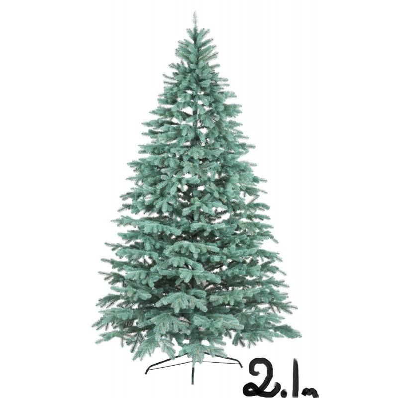 """Искусственная елка """"Литая Ковалевская"""" 2,1м голубая"""