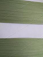 Готовые рулонные шторы День-Ночь Люкс оливковый