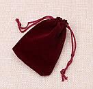 Мешочки из бархата для украшений от 100 шт., фото 6