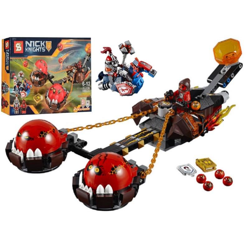 """Конструктор """"Безумная колесница Укротителя"""" Nexo Knights SY562 338 деталей"""