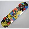 Скейт деревянный с пластиковой подвеской 6 видов, фото 4