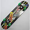 Скейт деревянный с пластиковой подвеской 6 видов, фото 8