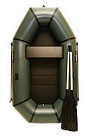 Лодка пвх надувная полутораместная Grif boat GH-210S