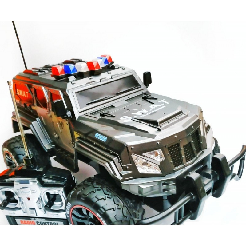 """Машинка """"S.W.A.T"""" военный джип W 3828 на радиоуправление 1:12"""