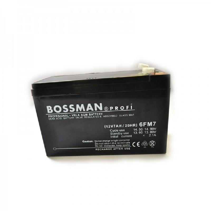Аккумулятор Bossman Profi LA 1270 (12v/7Ah) 6FM7