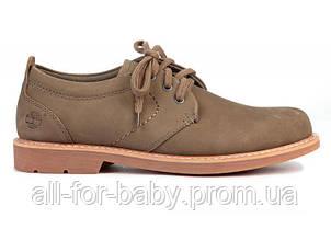 Мужские туфли Hartwick Plain Toe Oxford Grey размер 42 (115385-42)